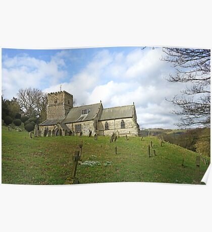 Kirby Underdale Church Poster