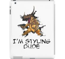 I'm Styling Dude - Greymon iPad Case/Skin