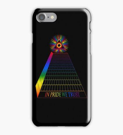 in pride we trust iPhone Case/Skin