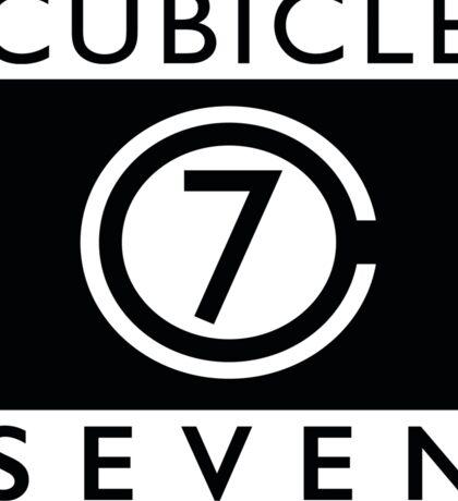 Cubicle 7  Sticker