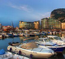 Ocean Village, Gibraltar by manateevoyager