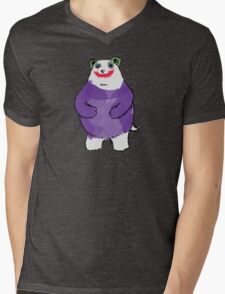 Shy Bear (Joker) Mens V-Neck T-Shirt