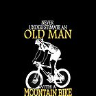 Never Underestimate An Old Man With A Mountain Bike by jasonchen