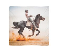 """The Ride- Santa Teresa Races"" Scarf"