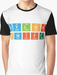 Taylor Swift Periodic Table Graphic T-Shirt