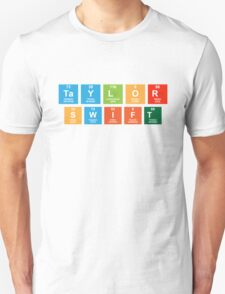 Taylor Swift Periodic Table Unisex T-Shirt