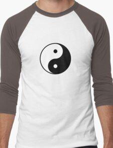 yin yang Men's Baseball ¾ T-Shirt