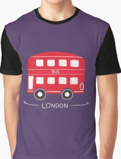 London Bus Graphic T-Shirt