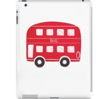 London Bus iPad Case/Skin
