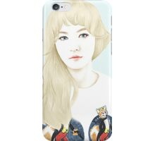 Red Velvet Wendy Ice Cream Cake iPhone Case/Skin