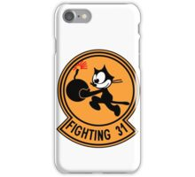 "VFA-31 Strike Fighter Squadron 31 ""Tomcatters"" iPhone Case/Skin"
