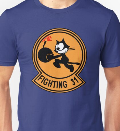 "VFA-31 Strike Fighter Squadron 31 ""Tomcatters"" Unisex T-Shirt"