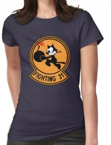 "VFA-31 Strike Fighter Squadron 31 ""Tomcatters"" Womens Fitted T-Shirt"