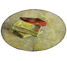 1887-Vincent van Gogh-Three books-31x48 Photographic Print