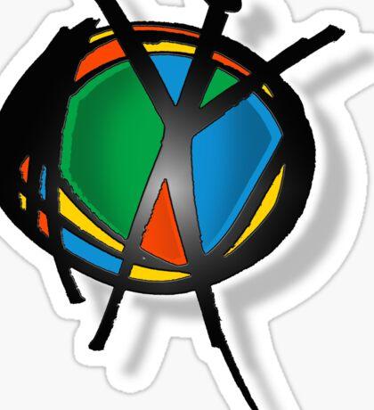 reach for peace Sticker
