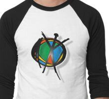 reach for peace Men's Baseball ¾ T-Shirt