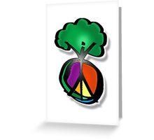 tree peace Greeting Card