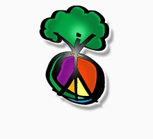 tree peace Womens Fitted T-Shirt