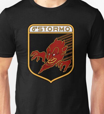 "6° Stormo ""Diavoli Rossi"" Unisex T-Shirt"