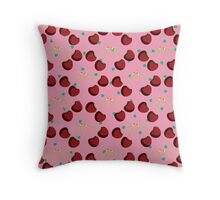 Chic a Cherry Cola Throw Pillow