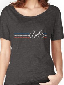Bike Stripes France - Chain Women's Relaxed Fit T-Shirt
