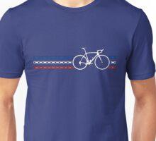 Bike Stripes France - Chain Unisex T-Shirt