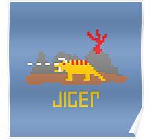 Jiger Pixel Poster