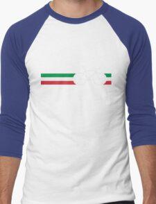 Bike Stripes Italian National Road Race Men's Baseball ¾ T-Shirt