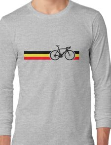 Bike Stripes Belgian National Road Race Long Sleeve T-Shirt