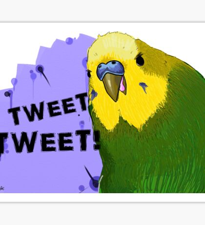 Tweet Tweet! Sticker