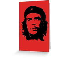 che guevara Greeting Card
