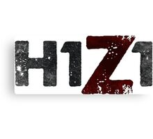 H1Z1 Canvas Print