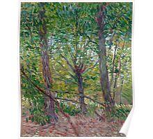 1887-Vincent van Gogh-Trees-36x46 Poster