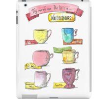 Watercolour drinks  iPad Case/Skin