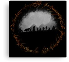 The Lord of The Rings Canvas Print