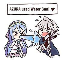 Azura used Water Gun! [Fire Emblem Fates x Pokémon] Photographic Print
