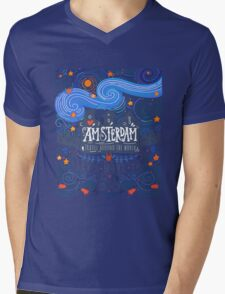 Let's move to Amsterdam Mens V-Neck T-Shirt