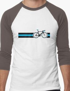 Bike Stripes Team Sky Men's Baseball ¾ T-Shirt
