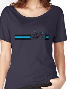 Bike Stripes Team Sky Women's Relaxed Fit T-Shirt