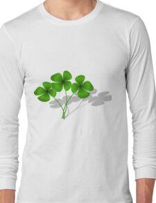 Clovers petals Long Sleeve T-Shirt