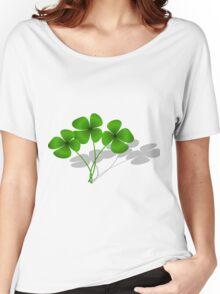 Clovers petals Women's Relaxed Fit T-Shirt