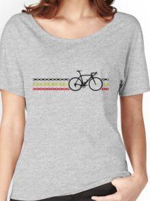 Bike Stripes Belgium - Chain Women's Relaxed Fit T-Shirt