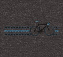 Bike Stripes Team Sky - Chain by sher00