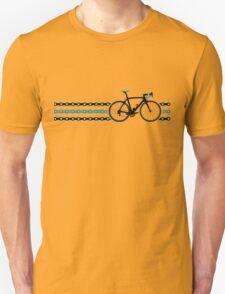 Bike Stripes Team Sky - Chain Unisex T-Shirt