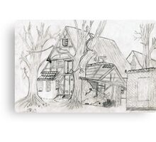 Wood House Canvas Print