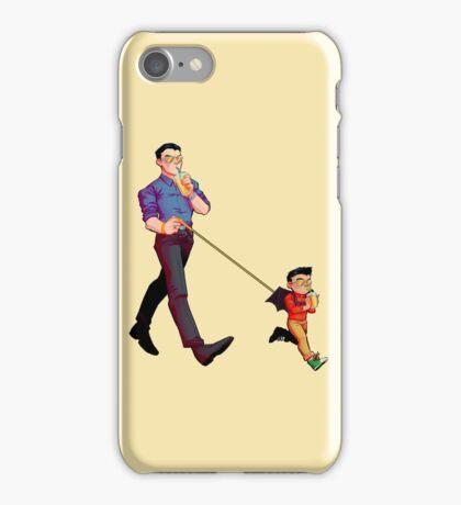 bat baby leash iPhone Case/Skin