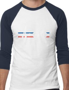 Bike Stripes France - Heartbeat Men's Baseball ¾ T-Shirt