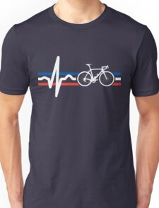 Bike Stripes France - Heartbeat T-Shirt