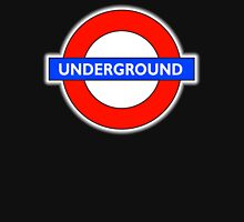 TUBE, UNDERGROUND, LONDON, ENGLAND, UK, BRITAIN, English, BRITISH, on BLACK Unisex T-Shirt