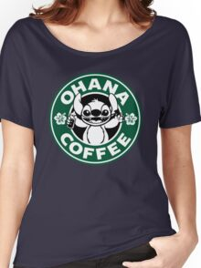 Stitch - Starbucks Women's Relaxed Fit T-Shirt